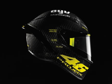 New AGV PistaGP Developed With Rossi