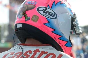 Hissy's unmistakable helmet - complete with haggis!