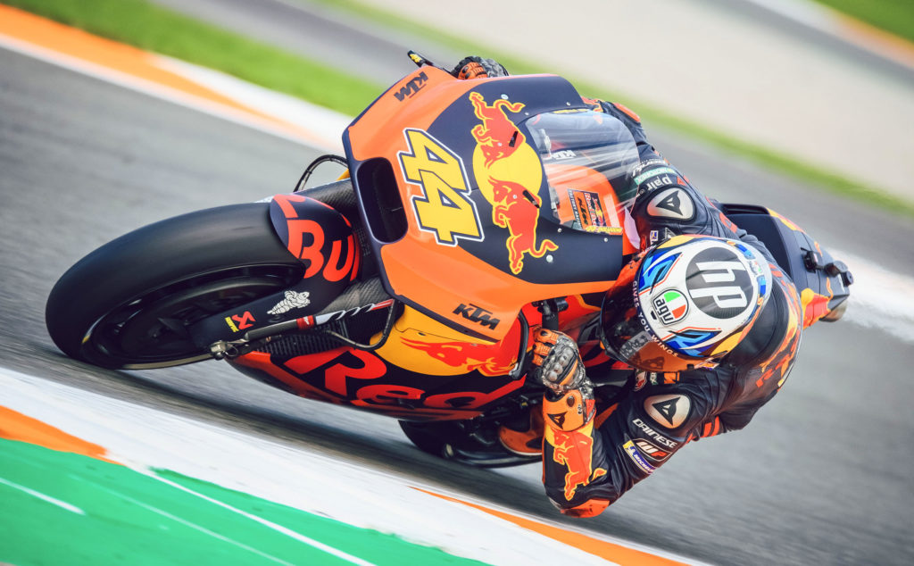 Buy a KTM RC16 MotoGP bike!