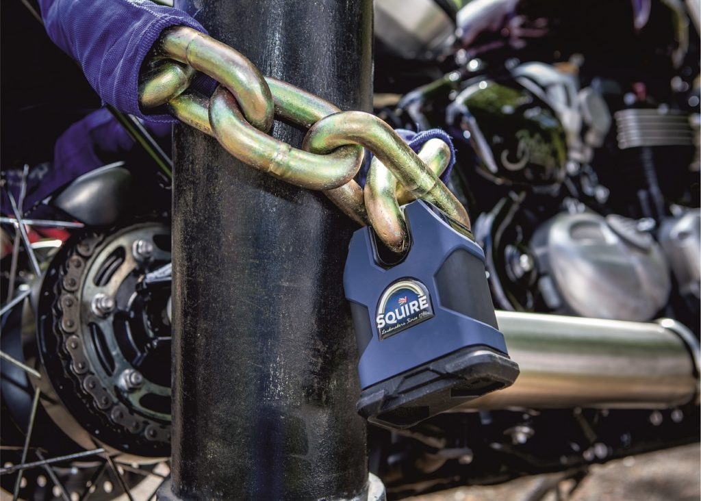 British bike lock maker Squire unveiling 'world's strongest padlock