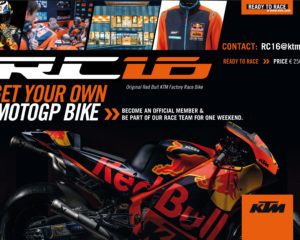 Buy a KTM RC16 MotoGP bike