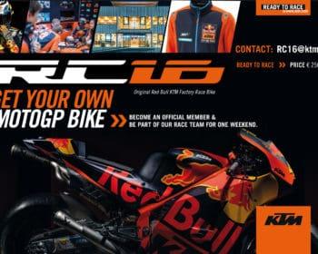 Buy a KTM RC16 MotoGP bike