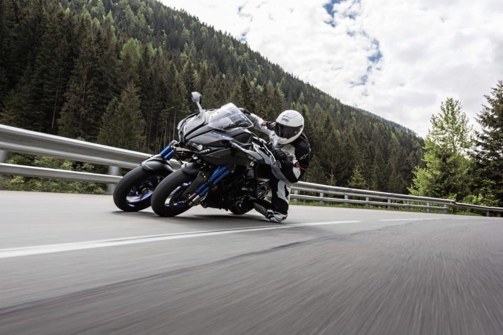 Yamaha Niken Three Wheelin Fastbikes