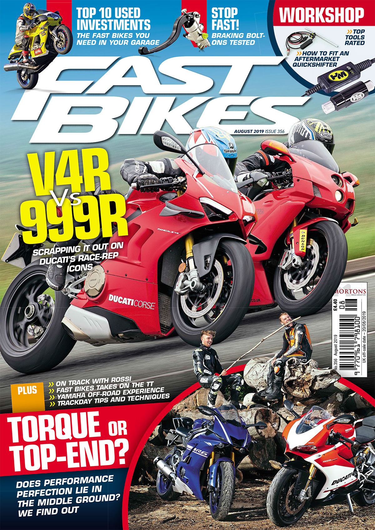 Fast Bikes August cover