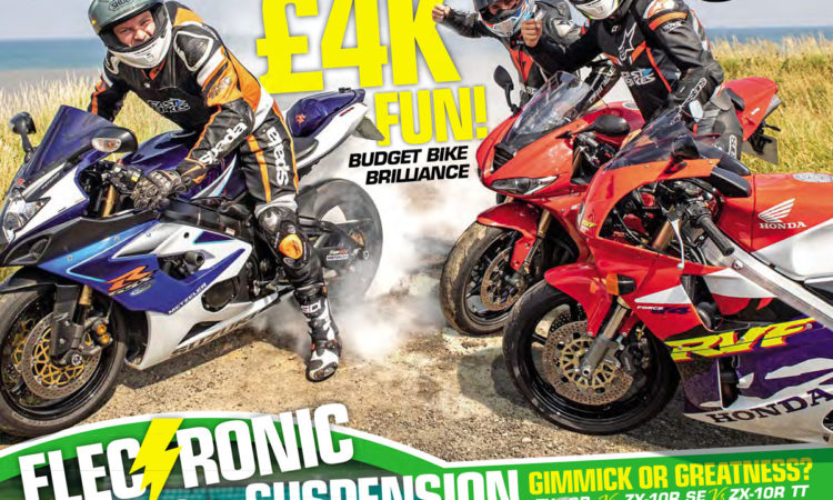 Fast Bikes magazine October cover
