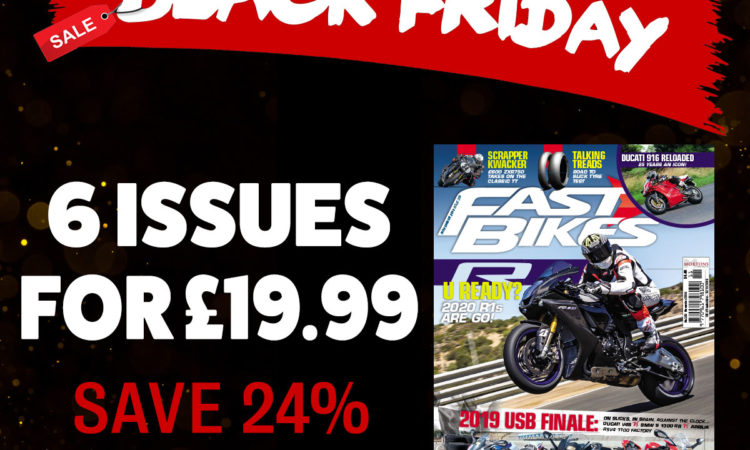 Black Friday Fast Bikes