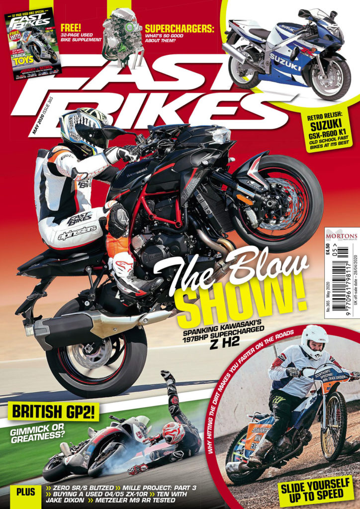What's inside the May issue of Fast Bikes?