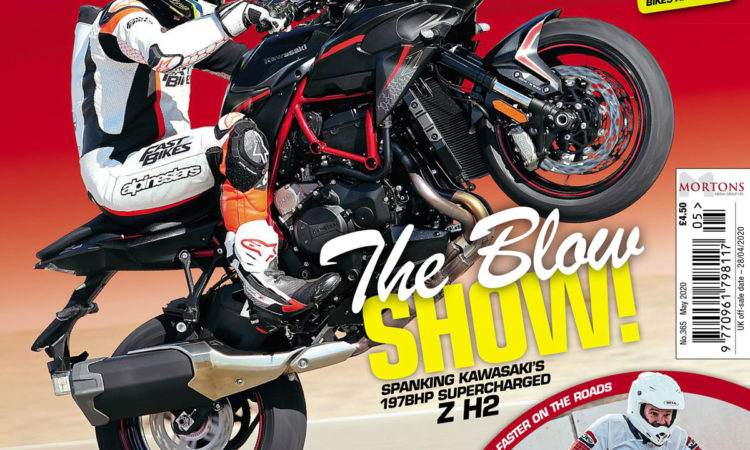 Dangerous Bruce heads to Vegas to test Kawasaki's newest supercharged superweapon in the May issue of Fast Bikes magazine. You don't want to miss out!